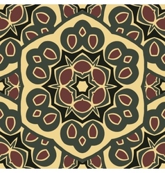Seamless ornament boho-chic vector