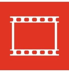 The film icon Film symbol Flat vector image