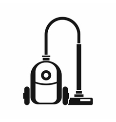 Vacuum cleaner icon simple style vector