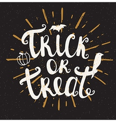 Black Halloween background vector image