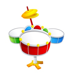 Icon drum vector