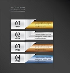 Presentation design banner gradient style vector