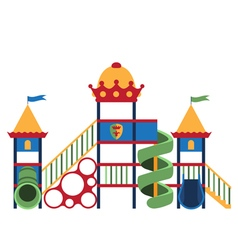 Kids playground and related items vector