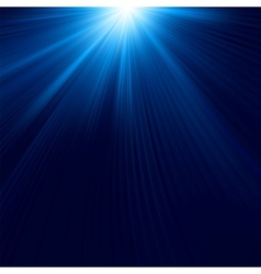 Abstract luminous rays background vector image