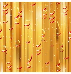 confetti seamless vector image vector image