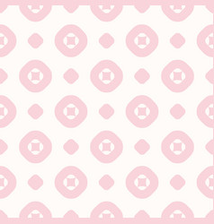 geometric seamless pattern in trendy pastel colors vector image
