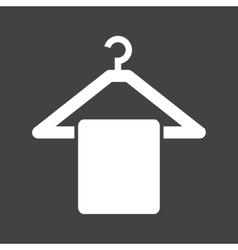 Hanging towel vector