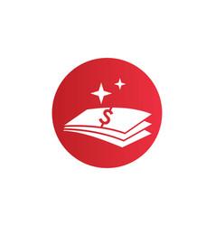Money dollar icon logo vector