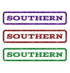 Southern watermark stamp vector