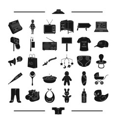 Textiles equipment transportation and other web vector
