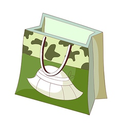 A shopping bag vector