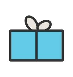 Birthday present vector