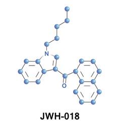 Jwh-018 analgesic cannabinoid vector