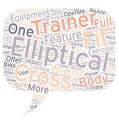 Why you should settle for an elliptical cross vector