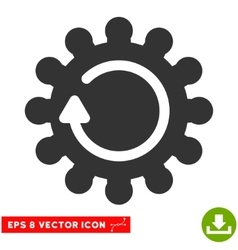 Cog rotation eps icon vector