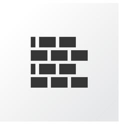 brickwork icon symbol premium quality isolated vector image