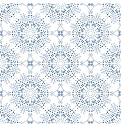 Seamless mandala pattern in moroccan arabic style vector