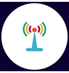 Antenna computer symbol vector
