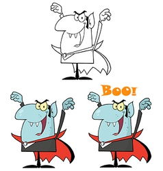 Cartoon monster design vector image