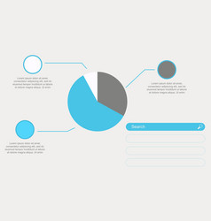 Diagram design business infographic collection vector