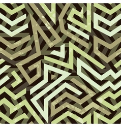 Graffiti grunge geometric seamless pattern vector
