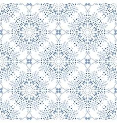 Seamless mandala pattern in moroccan arabic style vector