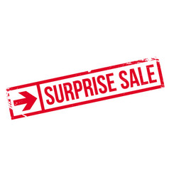 Surprise sale rubber stamp vector