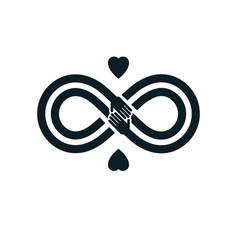 Sexual tolerance conceptual symbol zero vector