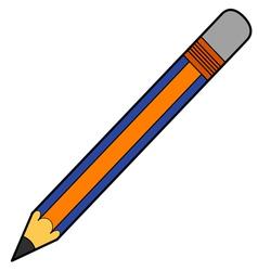 Pencil vector