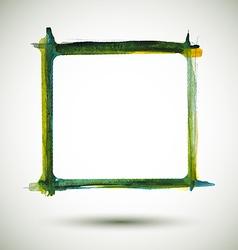 Frame watercolor vector