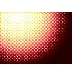 halftone burn vector image vector image