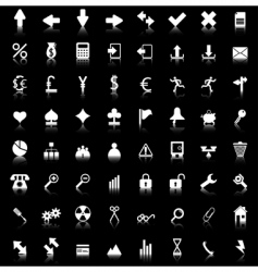 icons set vector image