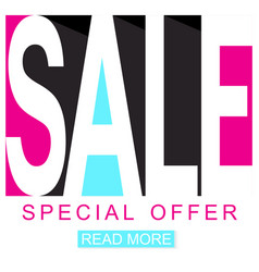 sale background sale poster seasonal special offer vector image
