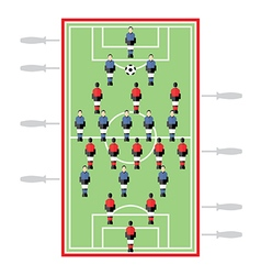 Table football vector