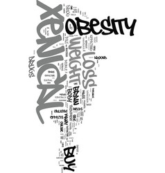 Xenical the safest weight loss drug text word vector