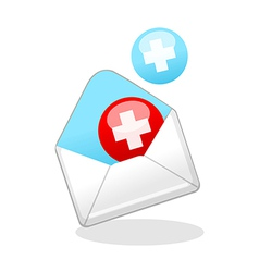 Icon mail vector