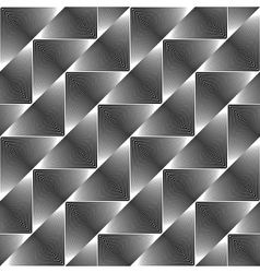 Design seamless triangle geometric pattern vector