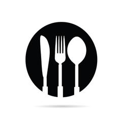kitchen equipment black vector image vector image