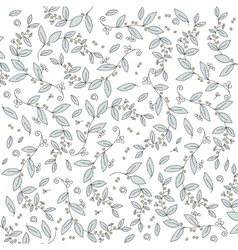 Beautiful olive branches background vector image