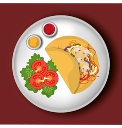 Food and gastronomy graphic design vector