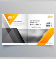 Business cover page template layout brochure vector