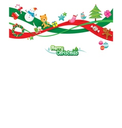 Christmas Ornaments Decoration vector image vector image