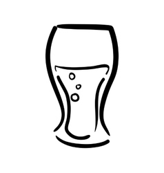 Glass icon Soda and drink design graphic vector image vector image