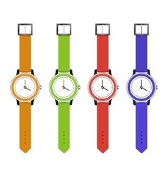 sports and fashion watches vector image vector image
