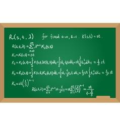 Resolvent kernel using neumann series method hand vector