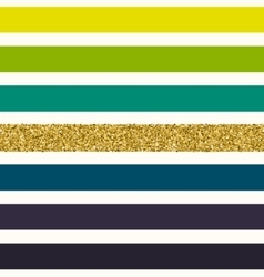 Trendy gold strip seamless pattern vector