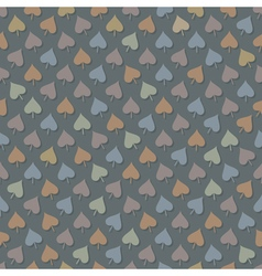 Abstract seamless background with leaves vector