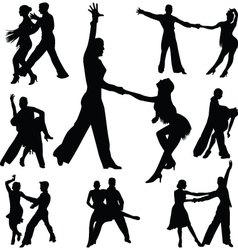 dance people vector image vector image