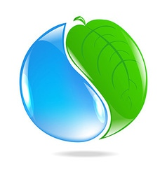 Eco Simbol vector image