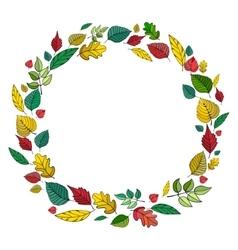 Frame leaves vector